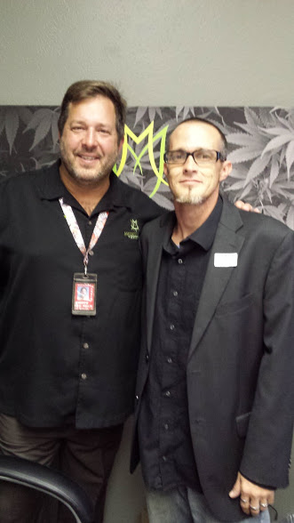 The Medicine Man Andy Williams and James Priest of CannaLance